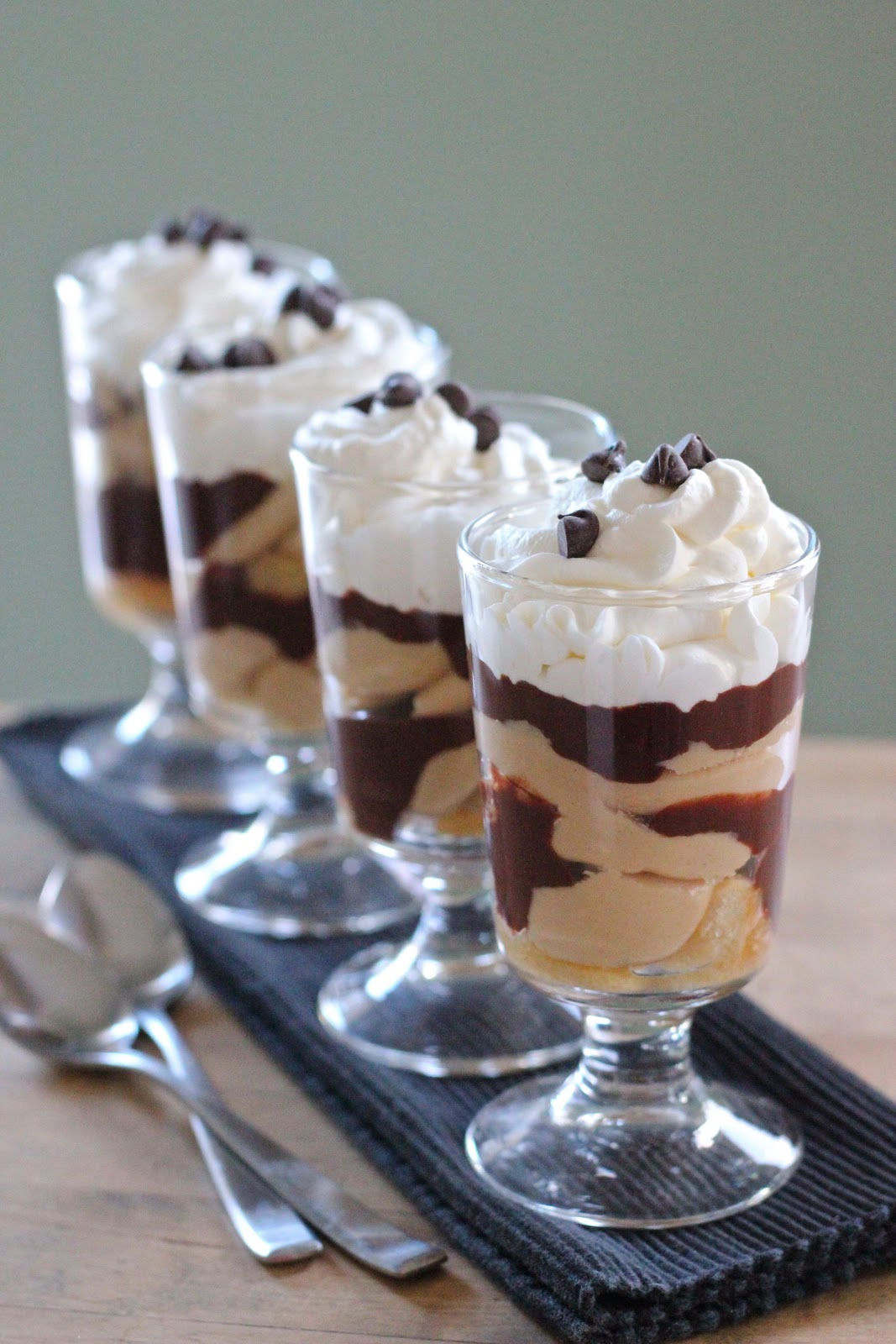 Peanut butter and chocolate parfaits | Eat Good 4 Life