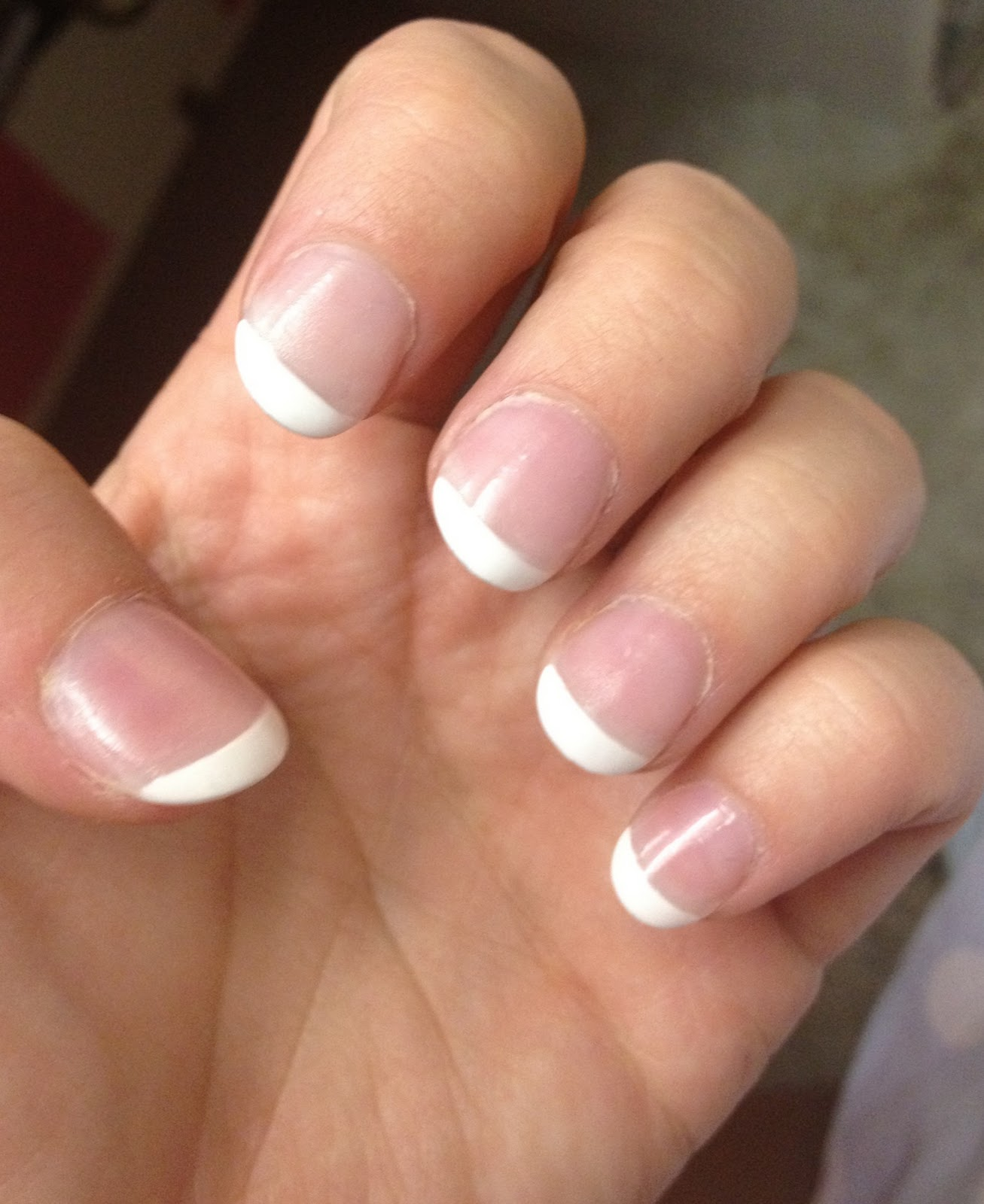 Never underestimate a girl with a French manicure...\