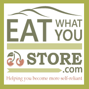 Check out my new blog at Eat What You Store.com.