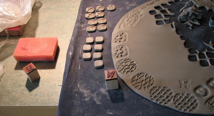 kształtowanie gliny