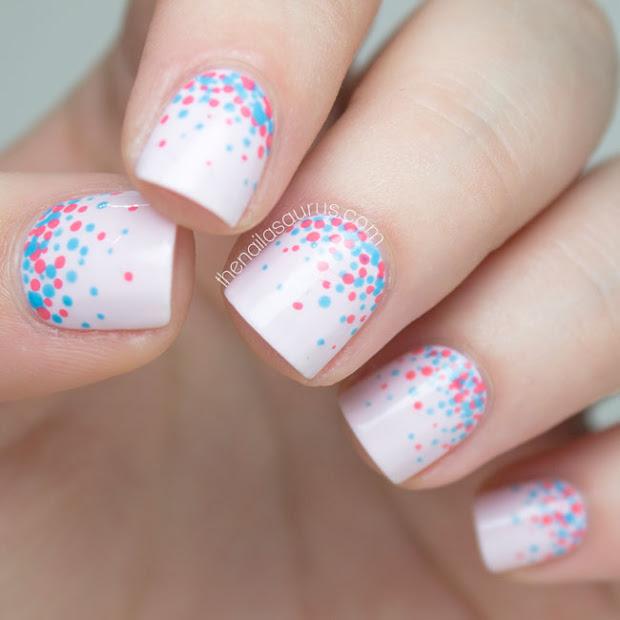 31 day challenge polka dot confetti