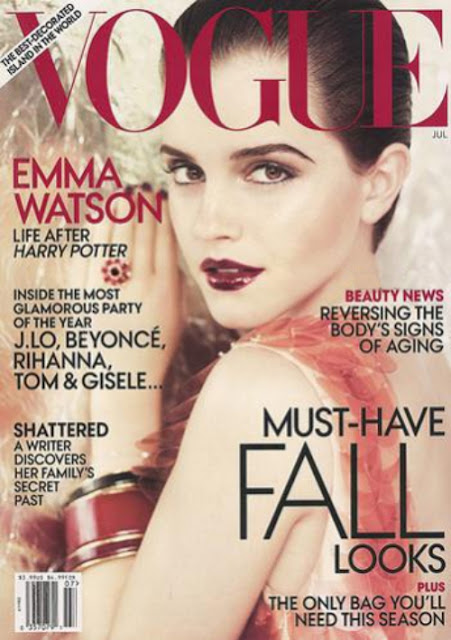 emma watson vogue july 2011 cover. watson vogue july cover.