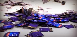 Ayuda, tipos de tarjetas SD