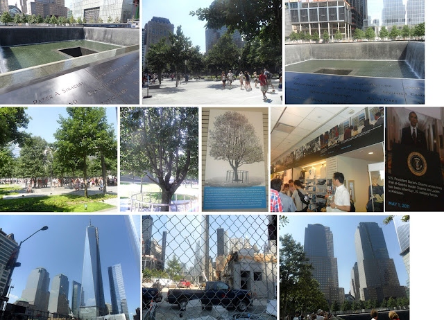 9/11 Memorial, World Trade Center, Twin Towers, Manhattan