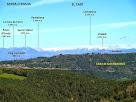 La Serra d'Ensija i el Cadí des del Turó de la Creu de Gurb