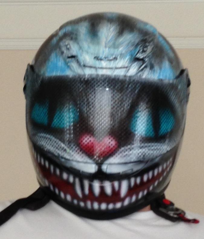 Spray Paint My Motorcycle Helmet