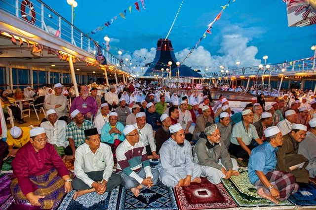 ceramah agama atas kapal