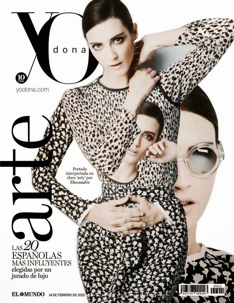Fashion Model: Barbara Garcia - Yo Dona Spain