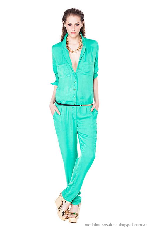 Camisa y pantalón de verano 2015 Basement ropa de mujer.