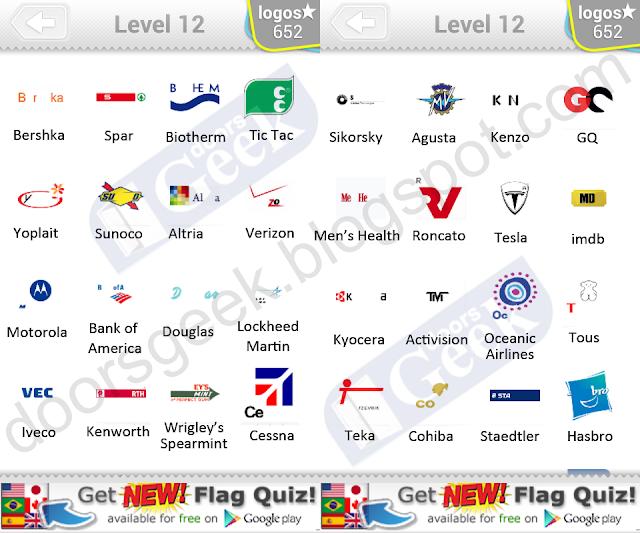 Logo Quiz Level 12 part