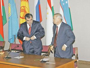 Президент таджикистана наводит мосты