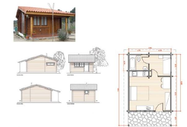 Planos casas modernas planos de casas en madera for Planos de madera
