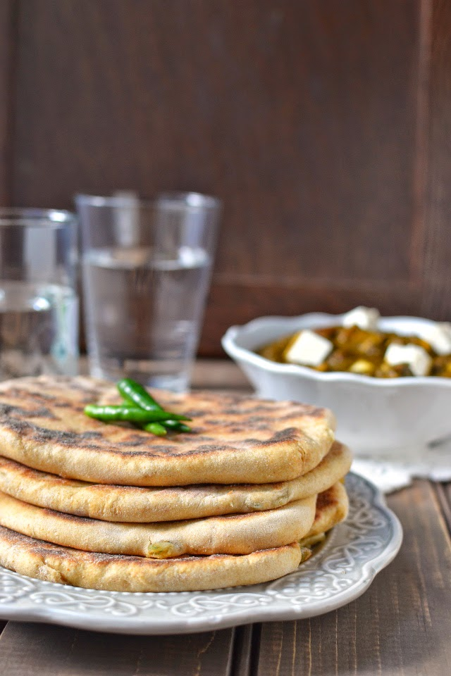 Amritsari Aloo Kulcha (Indian Bread)