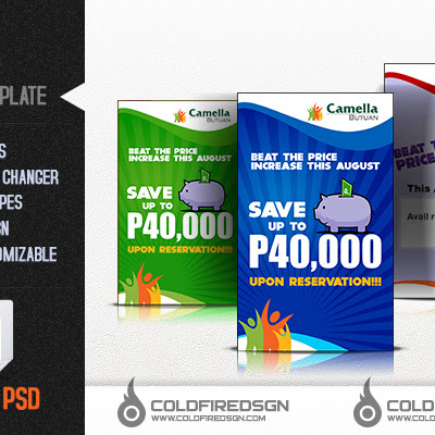 Promo Poster PSD Template