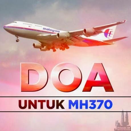 MH370... TRAGEDI ATAU MALAPETAKA