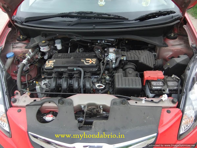 honda brio engine review