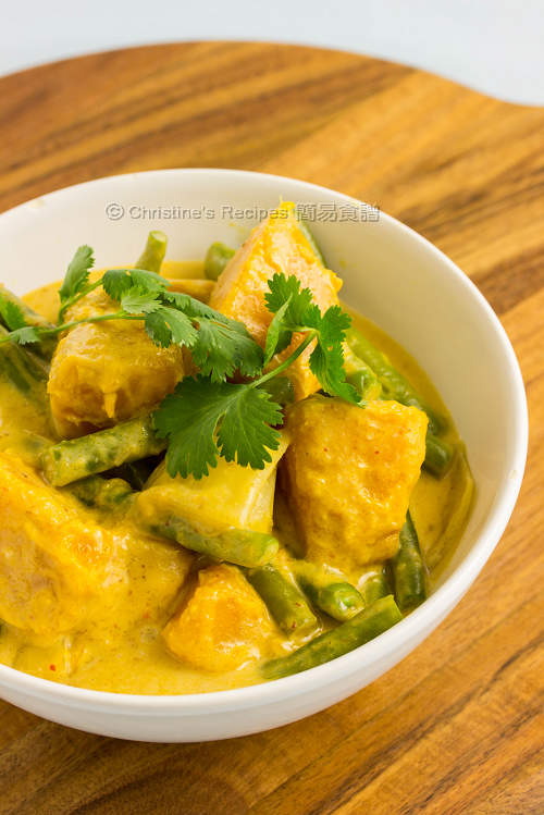 Pumpkin & Green Bean Red Curry01