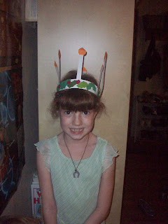 St. Lucia crown, just like the American Girl Kirsten