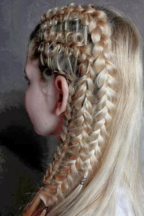 frisuren blond und pink
