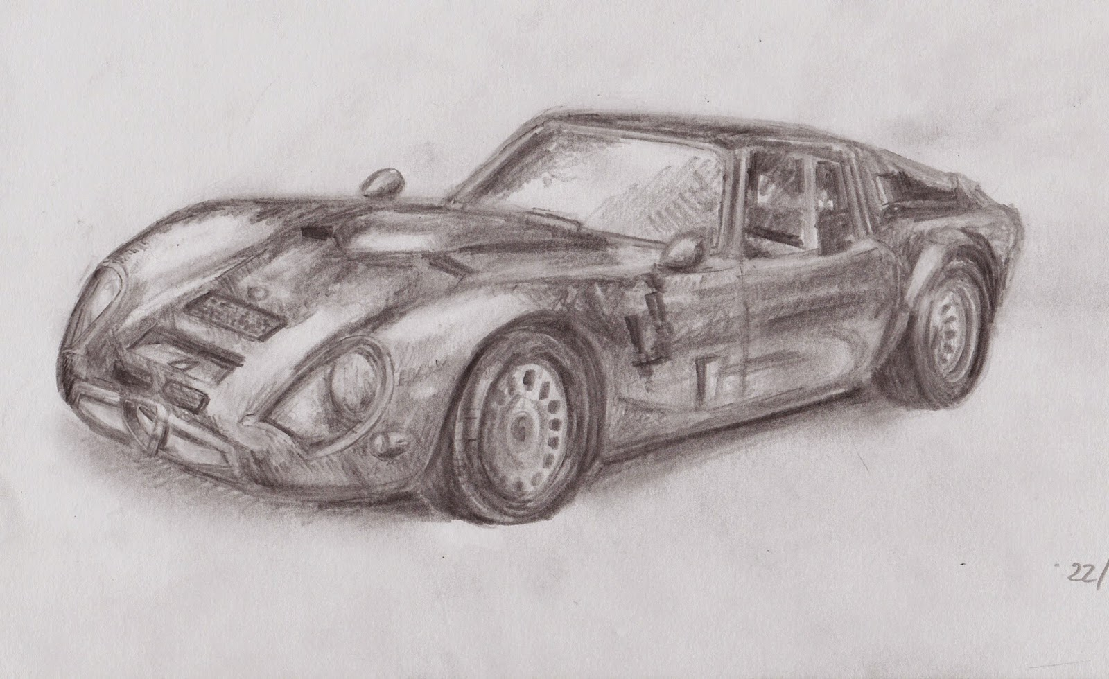 The art myriad vehicle sketches