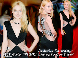 MET Gala - Dakota Fanning