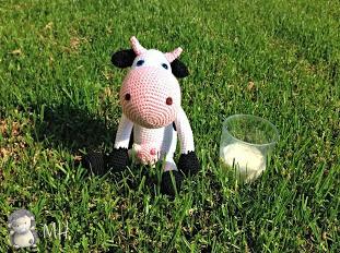 Hacer Vaca Amigurumi : MADRES HIPERACTIVAS: Vaca Amigurumi, Patron Gratis