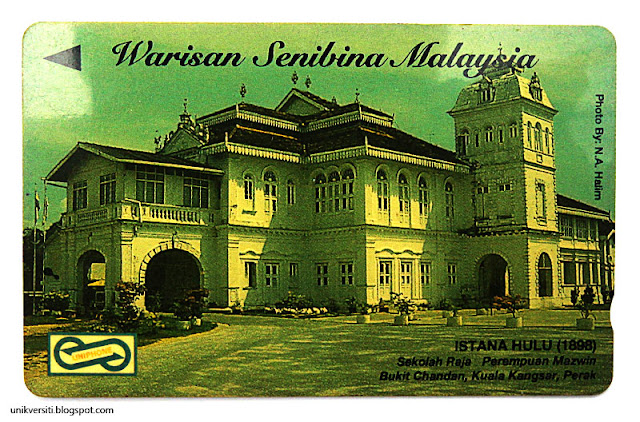 kad uniphone - Warisan senibina Malaysia