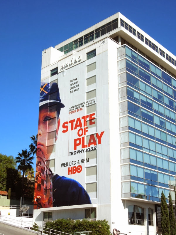 Giant State of Play Trophy Kids HBO billboard