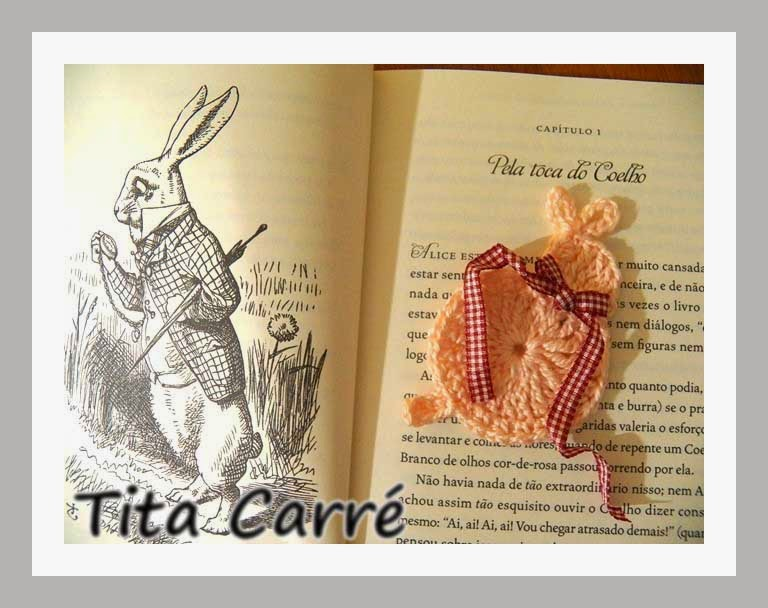 Na toca do Coelho da Páscoa em Crochet