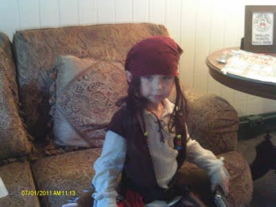 Celebrity Sighting:  Capt Jack Sparrow 3  James%2BCooke%2BCapt%2BJack St. Francis Inn St. Augustine Bed and Breakfast