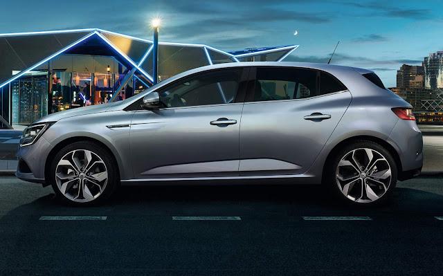 Novo Renault Megane 2016 - lateral