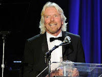 Richard Branson, CEO of  Virgin Group
