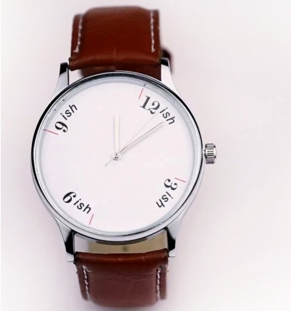 stretchable time watch