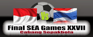 Timnas Indonesia vs Thailand Final Sea Games 2013