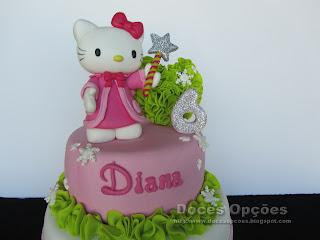 bolo de aniversário hello kitty doces opções