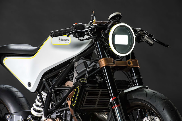 Husqvarna Introducing New Bike 401 Vitpilen In India 2017