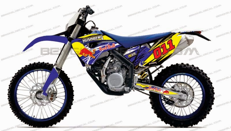 decal husaberg red bull