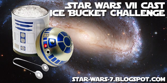 Star Wars 7 Cast Ice Bucket Challenge