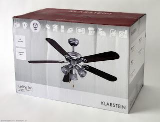 Klarstein Charleston Ventilatore da Soffitto con lampadine