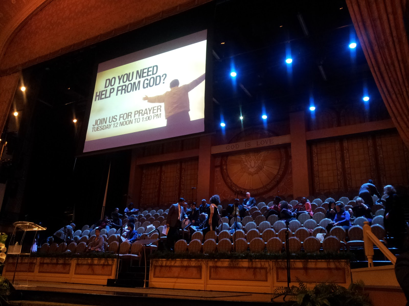 messe gospel Brooklyn Tabernacle New York