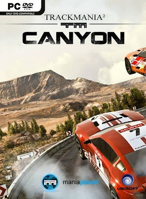 TrackMania 2: Canyon PC Cover