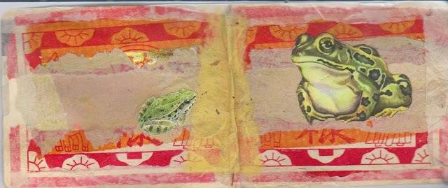 carnet grenouille