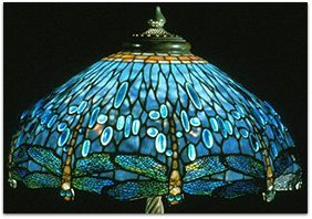 Finding my way by moonlight for 1908 studios tiffany blue dragonfly floor lamp
