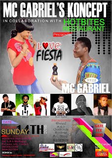 "MC GABRIEL storms Maidcity with ""Love Fiesta"""