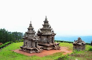 Tempat Wisata Sejarah Candi Gedong Songo di Bandungan