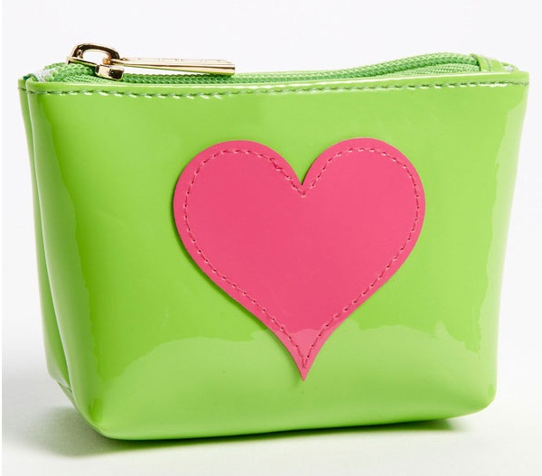 Lolo 'Avery Heart Mini' Cosmetic Pouch