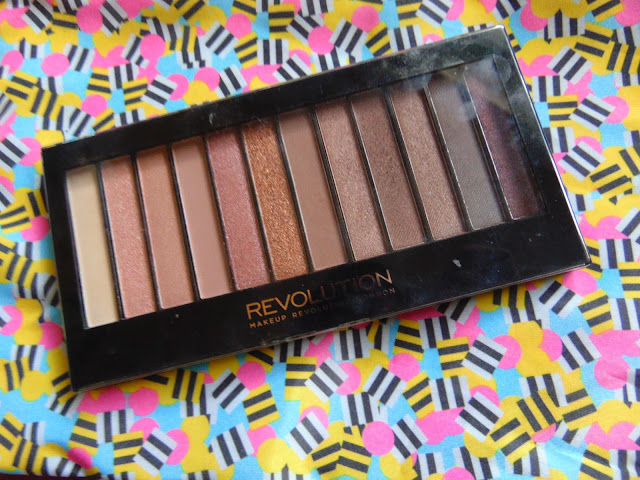 7 days 7 palettes Make up revolution iconic 3