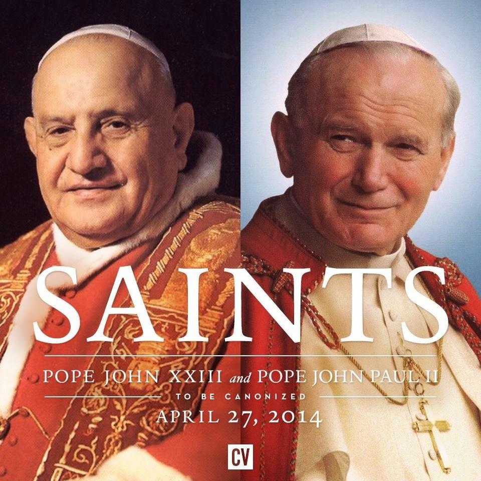 Rome, le 27 avril 2014 : Canonisation de Jean XXIII et Jean-Paul II