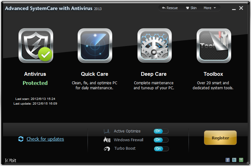 is advanced systemcare 10 a virus