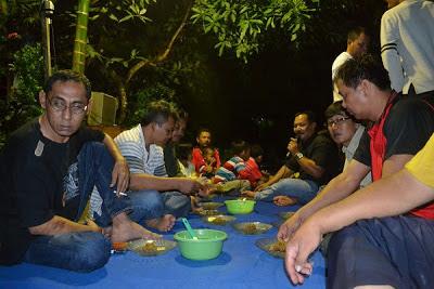 selamatan kampung gemilang di akhir 2012, selamat tahun baru 2013 masehi